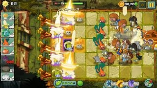 Plants vs Zombies 2 - Banana Launcher Super Power Tile in Lost City