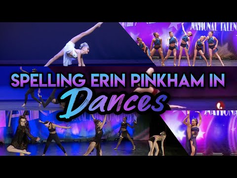 Dance Moms Spelling Erin Pinkham In Dances!!!!!