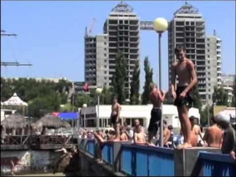 The lock and the visit of Zaporizhia / Запоріжжя (Ukraine)
