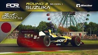 iRacing | AOR Formula Renault 3.5 Championship | S1 | R2: Suzuka