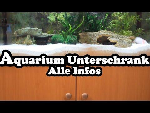 Aquarium unterschrank technik filter und zubeh r youtube for Aquarium unterschrank