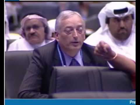 "Lord Monckton gate crashing the UN ""Climate Change"" Conference"