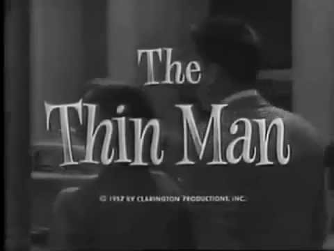 """The Thin Man"" TV Intro"