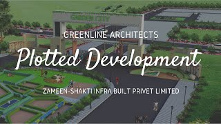 Zameen Shakti Sanskar Green City / Plotted development - Walkthrough