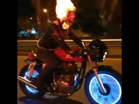 how to be a ghost rider in real life