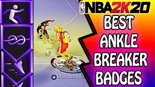 THE BEST ANKLE BREAKING PLAYMAKING BADGES AFTER PATCH IN NBA 2K20