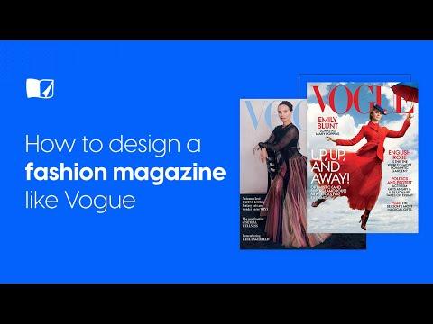 How To Design a Fashion Magazine Like Vogue | Flipsnack.com