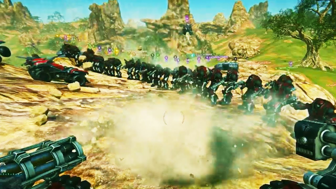 Why because we can in Planetside 2