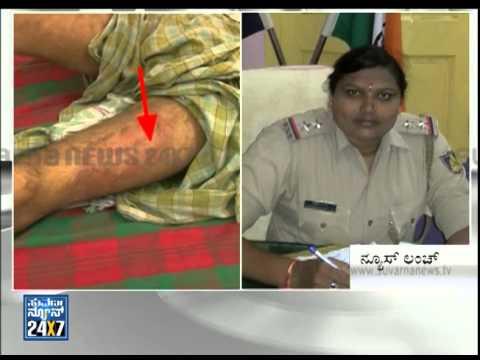 Brutality of police in Gadag - News bulletin 20 Jul 14