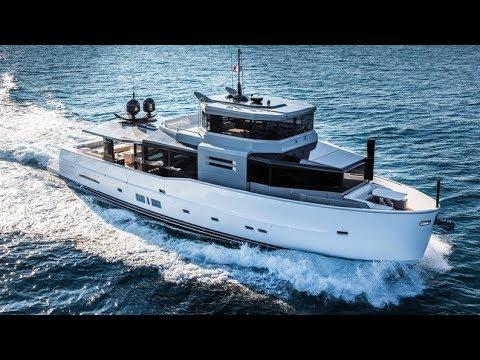 Arcadia A85S the luxurious 85-ft Yacht