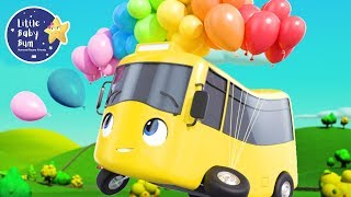 LIFT OFF Busters Balloons | Go Buster | +More Nursery Rhymes and Baby Songs | Little Baby Bum