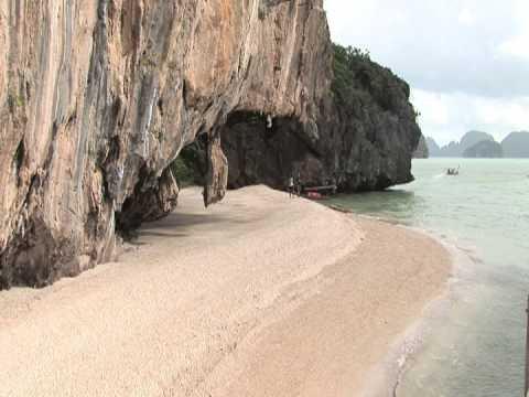 Phuket Beach near James Bond Island Andaman Sea Thailand location The Man with the Golden Gun Movie