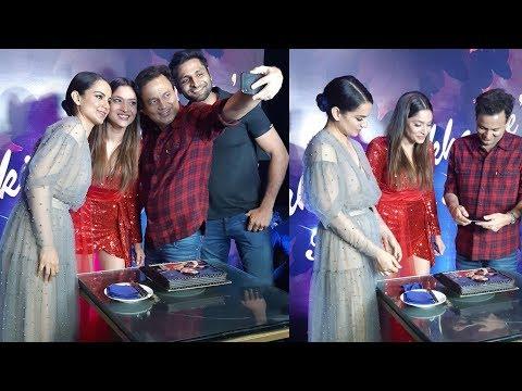 Ankita Lokhande superhappy on her birthday celebrations with Kangana Ranaut and team Manikarnika