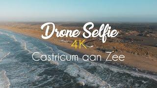 Drone Selfie @ Castricum aan Zee   Drone video: Nederland vanuit de lucht    4K video   Dji Phantom