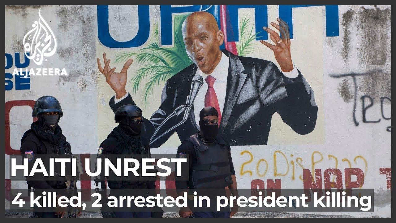 2 U.S. citizens arrested in Haitian president's assassination