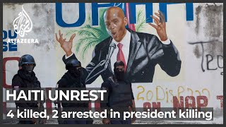 Haiti police say 4 suspects killed, 2 arrested in president killing