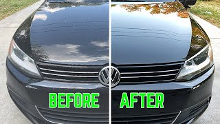 Complete Car Detail and Ceramic Coating Volkswagen | How To