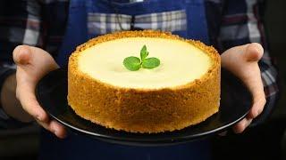 чизкейк «Нью Йорк» легко без водяной бани, бюджетный вариант, делаем творожный сыр сами!