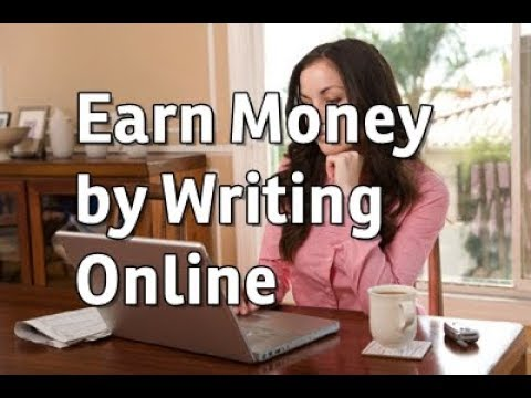 making money by writing online Learn how to make money writing online and five resources to get you started making money writing online isn't always easy but you can make a lot of money.
