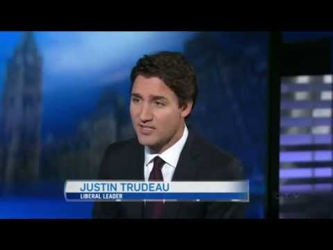 Liberal Party of Canada Leader Justin Trudeau Pre-election Interview - 14 Oct 2015