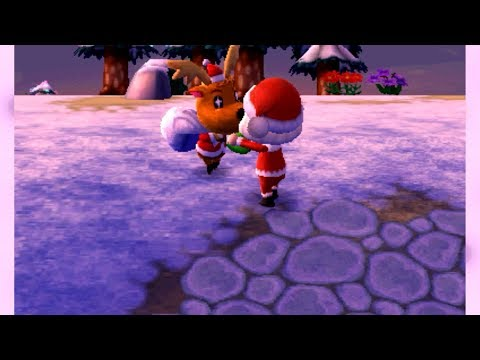Animal Crossing New Leaf: Welcome Amiibo - O Holy Night (Toy Day!)