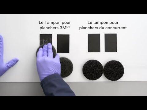 Défi sur les Tampons pour planchers 3M