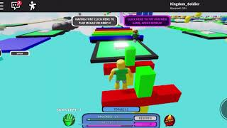 Did I go the Wrong Way?! || ROBLOX MEGA FUN OBBY Levels 1-100