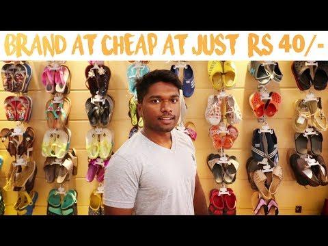 Chappal Market In Inderlok | Cheapest Ladies Footwear Wholesale Market |