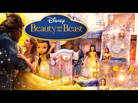 Beauty & the Beast  Action  Toys and Dolls Fun Opening Playsets from the Movie  SWTAD