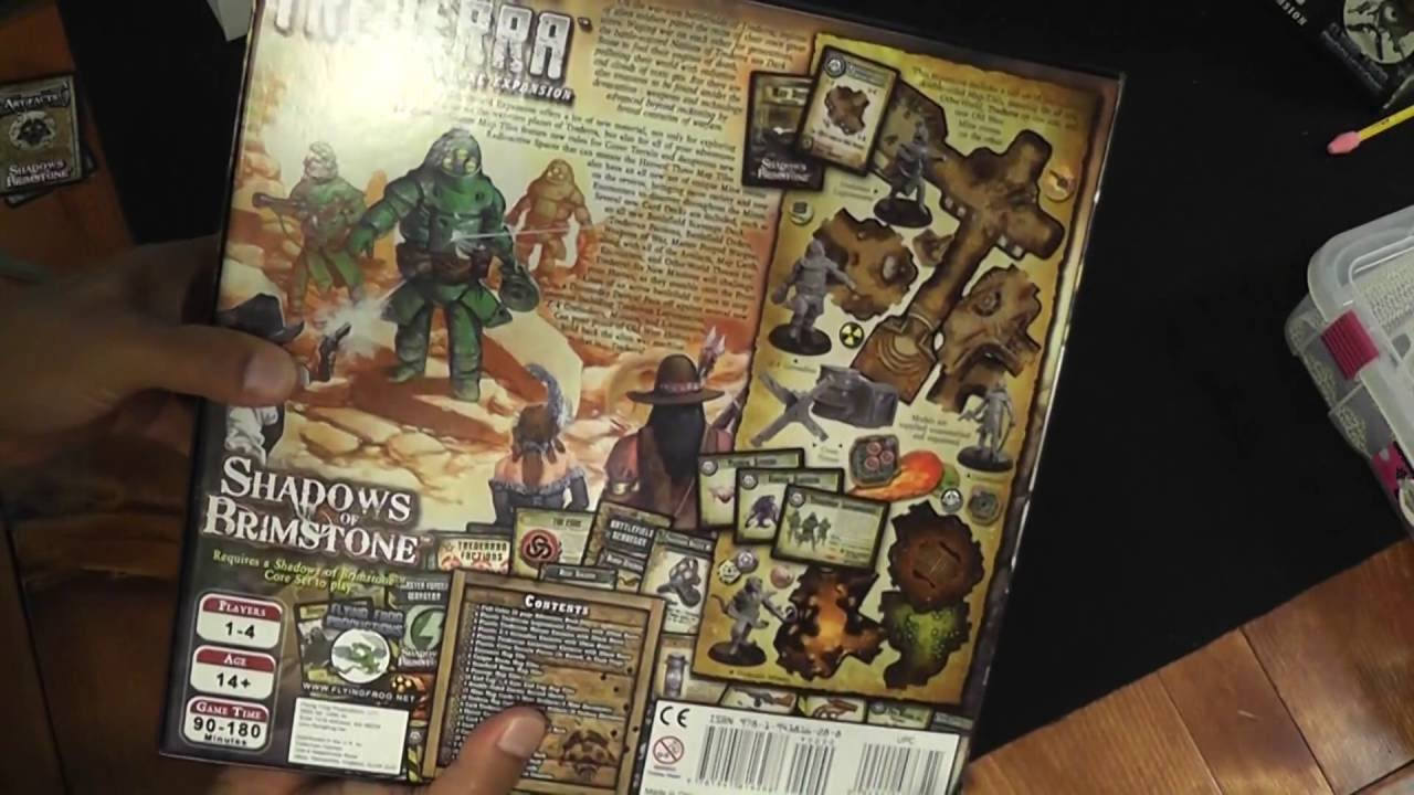 Shadows of Brimstone Spiele Trederra Deluxe • OtherWorld Expansion