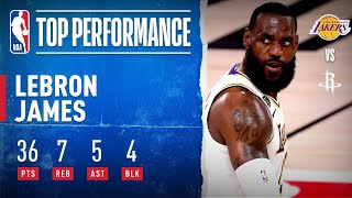 LeBron's MONSTER Performance Lifts Lakers To Game 3 Win