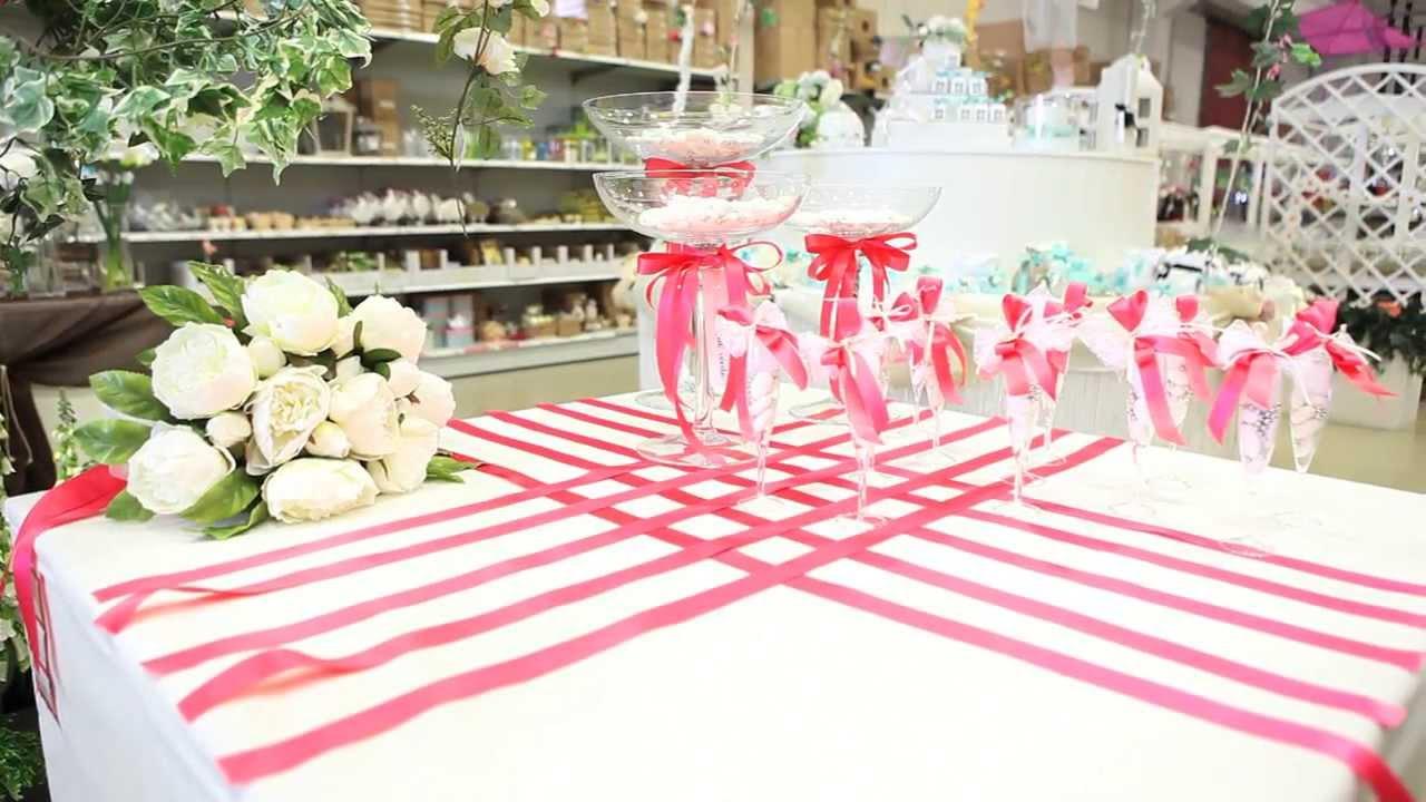 Come Addobbare Un Tavolo Per Confettata bicchierino porta confetti