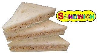 Sandwich Recipe - Chicken Sandwich Recipe - Easy & Quick Mayo Sandwich - Aliza In The Kitchen