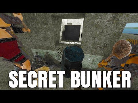 Breaking into the Secret Bunker - 7 Days to Die