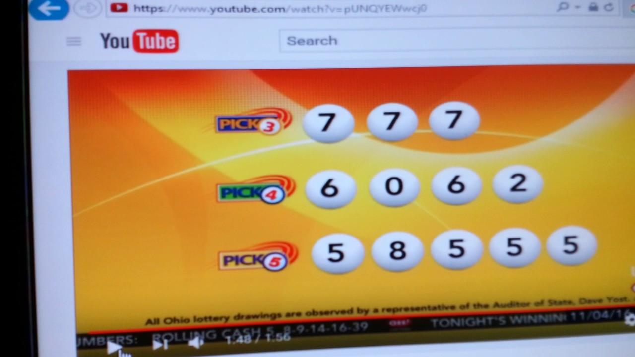 Lotto Pick 3 Results