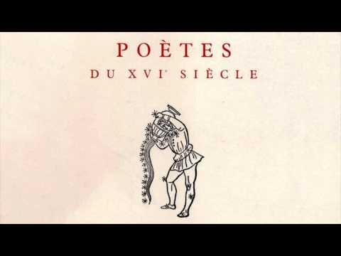 POÉSIE 16e – Claude-Gilbert Dubois à propos des poètes du XVIe siècle (Université Bourgogne, 1995)