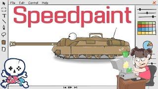 Speedpaint (Рисуем турбо танк Т95)
