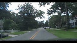 Trip down Daytona Avenue, 1st Street, and Riverside Dr in Holly Hill Florida