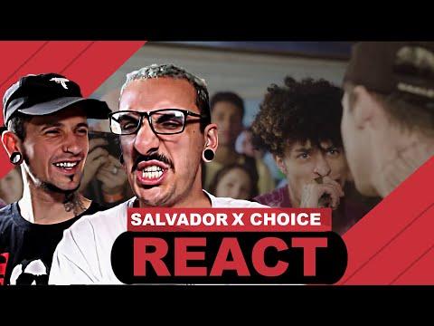 Choice X Salvador - Batalha Dos Amigos [React] | Ft. @7juliao7