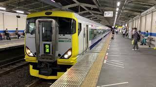 【ホリデー快速鎌倉】回送電車南越谷駅発車E257系500番台(NB12編成)