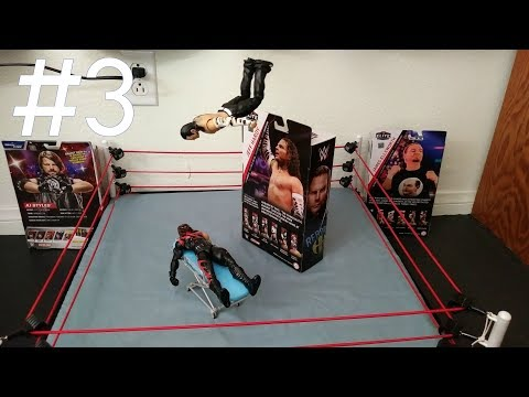 WWE Stop Motion Tests #3 (Animation Sequences)