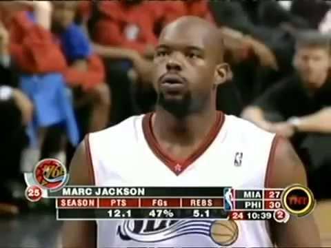 Marc Jackson 26 points vs  Miami