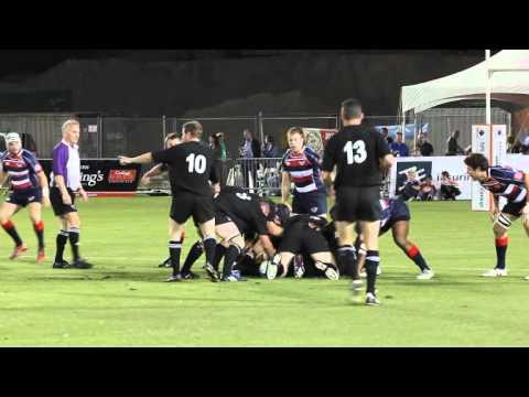 #3 New Zealand All Blacks United States Rugby Classic Bermuda 2011