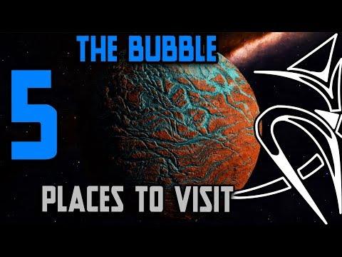 5 Places to visit : in THE BUBBLE Elite Dangerous