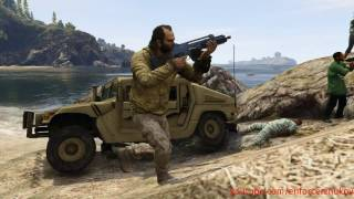 GTA V - The Marines Island Rampage (Rockstar Editor video)