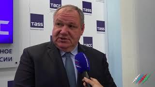 Смотреть видео Президент Россоюза туриндустрии Сергей Шпилько рассказал, почему надо ехать в Баку и Шеки онлайн