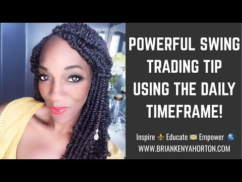 HOW TO SWING & INTRADAY TRADE Using The DAILY TIMEFRAME - FOREX Channel Trading 💰
