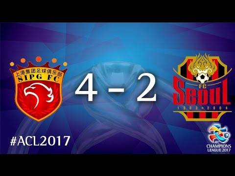Shanghai SIPG vs FC Seoul (AFC Champions League 2017 : Group Stage - MD5)