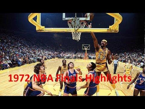 Game 5 1972 Nba Finals Knicks Vs Lakers Highlights Youtube