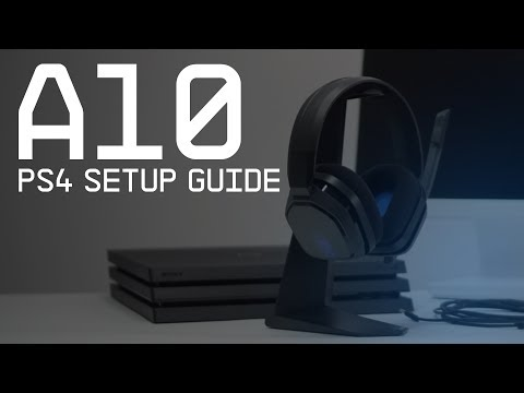 A10 Gaming Headset PS4 Setup Guide || ASTRO Gaming